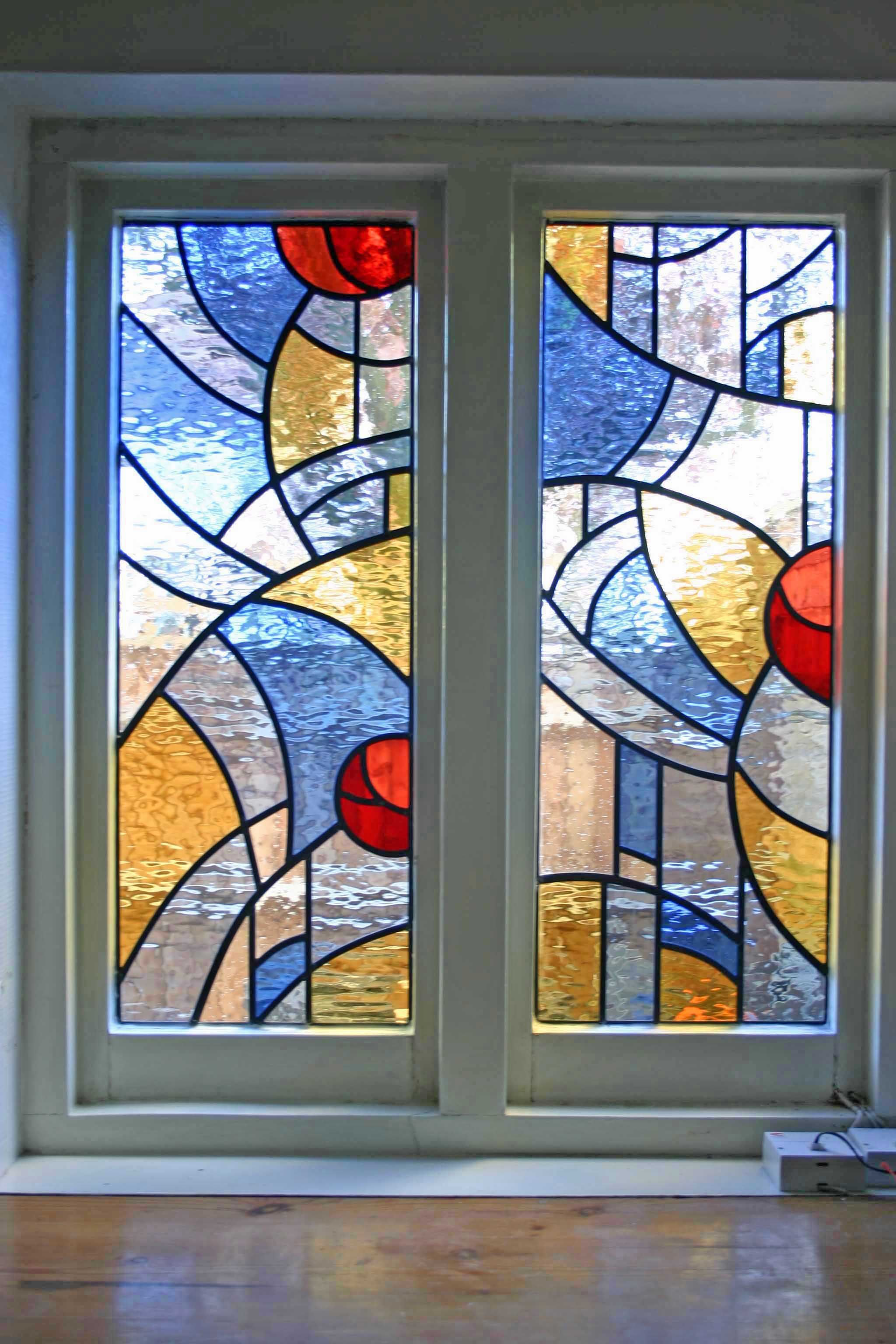 Carol arnold stained glass and design image of window