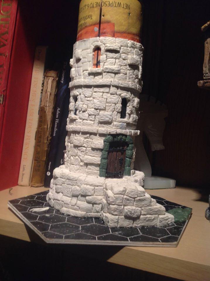 Landscape Elements, Fantasy Landscape, Model Castle, Dungeons And Dragons Dice, Dice Tower, Warhammer Terrain, Game Terrain, Wargaming Terrain, Miniature Crafts #wargamingterrain