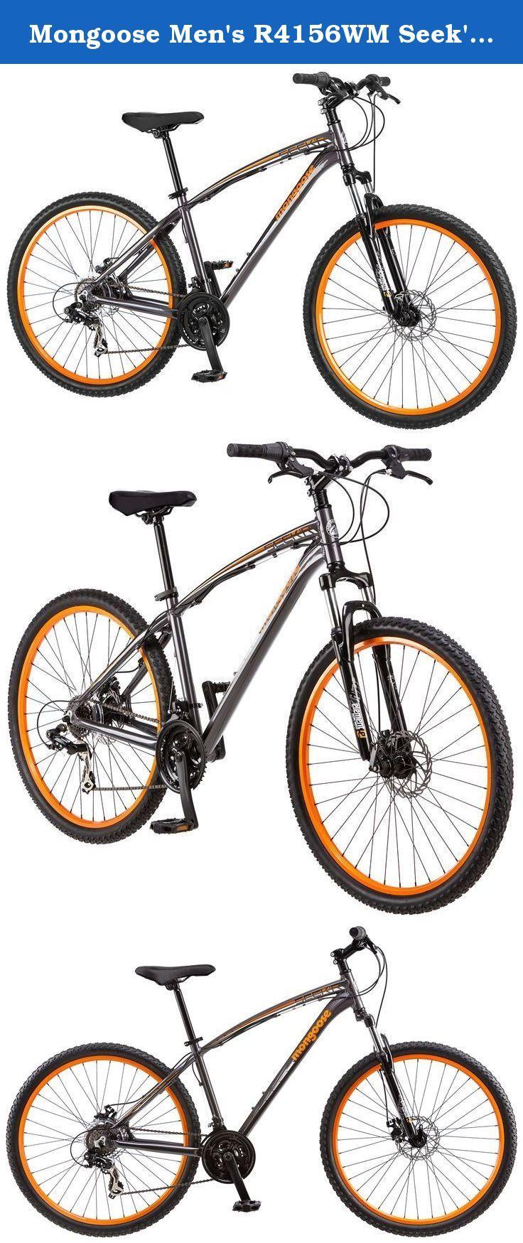 dcf0730473f Mongoose Men's R4156WM Seek'r Mountain Bike , 18