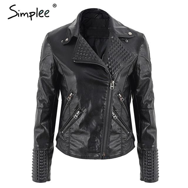 ce118eb116 Faux Leather Motorcycle Jacket Metallic Colors | Products | Womens ...