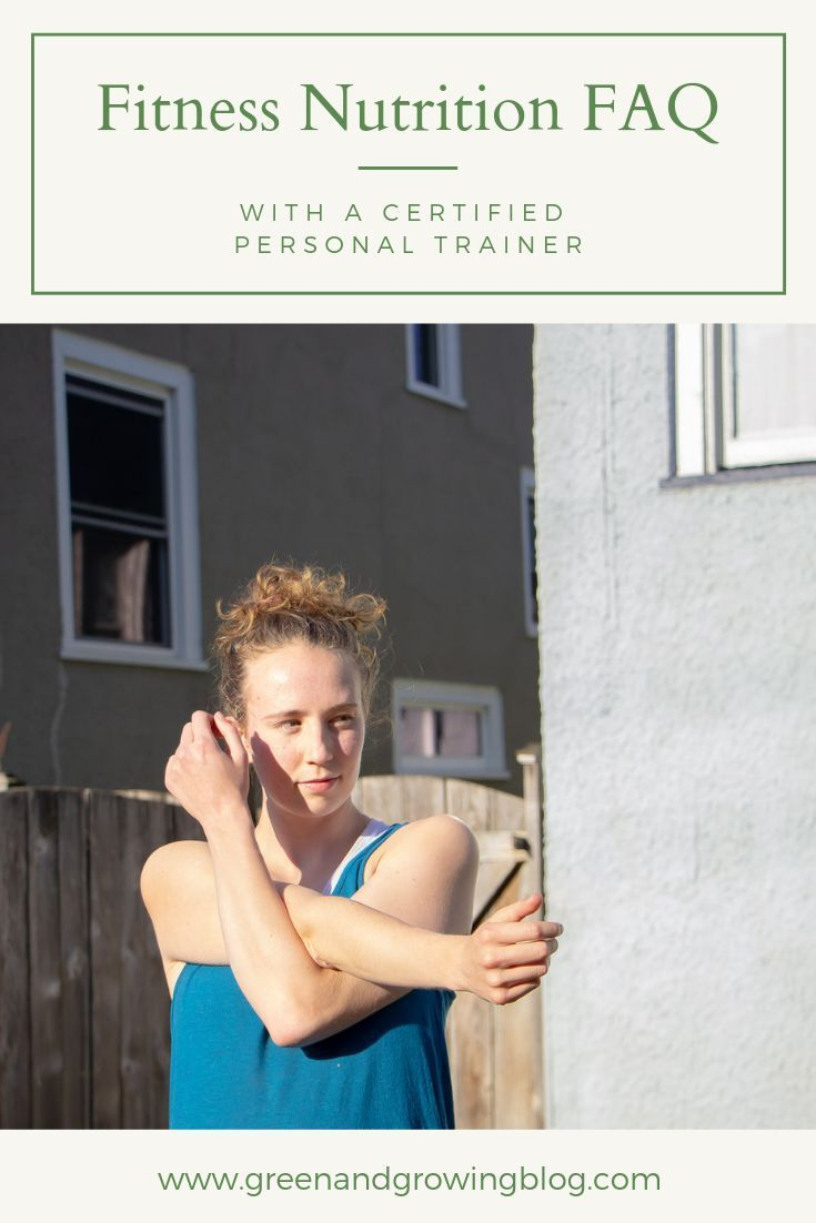 Some of the most common questions I get asked as a personal trainer are about pre- and post-workout...