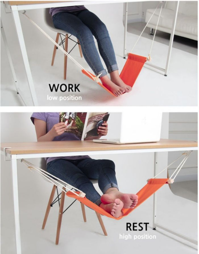 For your home office! Legs stretched out, crossed, or the number-four–which among these is your preferred sitting position? You might find yourself switching from one position to the another as you try to