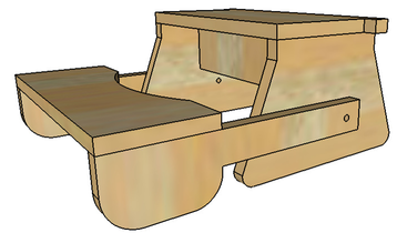Sensational Folding Step Stool Plans Or Pattern For The Kids Complete Onthecornerstone Fun Painted Chair Ideas Images Onthecornerstoneorg