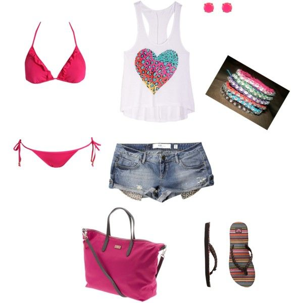 """look playero"" by mariantyagua on Polyvore"