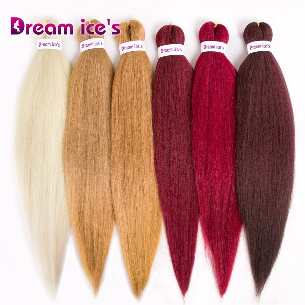 Synthetic Braiding Hair Original Crochet Fiber Hair Yaki