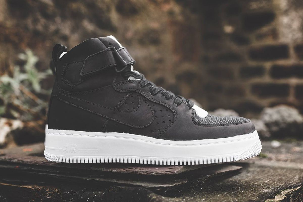 2024653fc NikeLab  Black White  Air Force 1 High CMFT TC SP (8 Detailed Pictures) -  EU Kicks  Sneaker Magazine