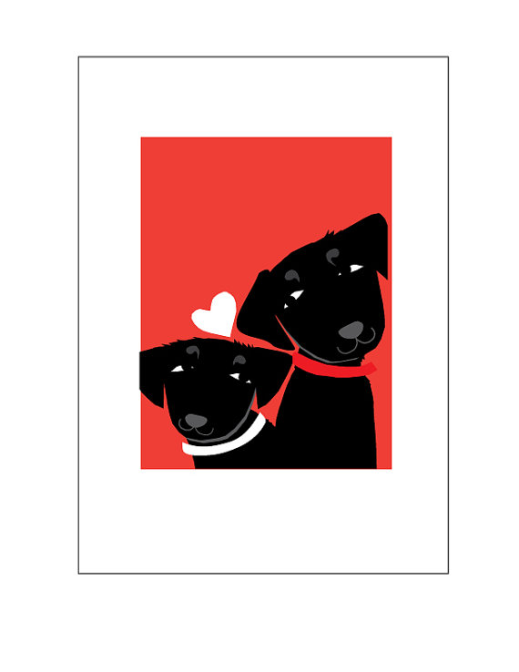 Black Labs Valentine Greeting Card Collection Black Labs Labs And