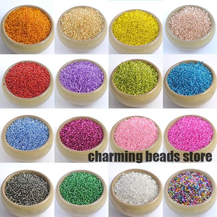 2mm 1500pcs Silver Lined Crystal Seed Glass Spacer Beads For Jewelry Handmade Diy Free Shipping Beads & Jewelry Making Jewelry & Accessories