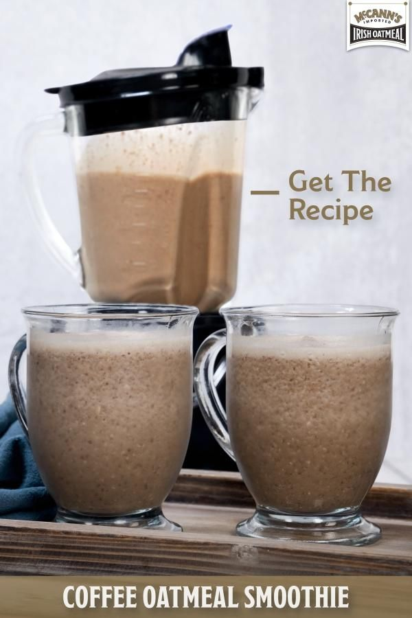 A Coffee Smoothie With This Secret Ingredient