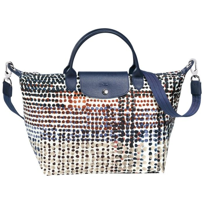 Longchamp Le Pliage Neo Fantaisie Polka Navy Blue Longchamp Longchamp Lepliagebag Lepliage Bag Totes Totebags Fahion Lifestyle With Images