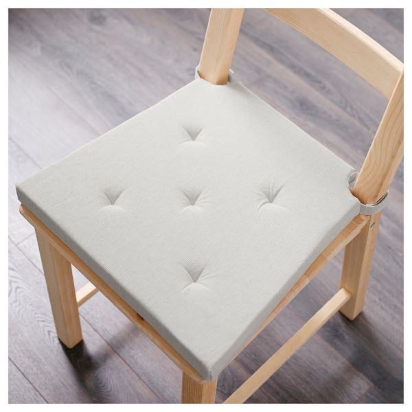Cuscini Per Sedie Giardino Ikea.Justina Cuscino Per Sedia Naturale 35 42x40x4 0 Cm Cuscini Per