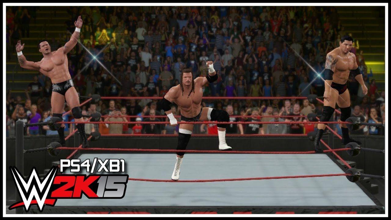 WWE 2K15 PS4/XB1 - Retro Evolution Entrance! (Legend Killer Randy Orton, Batista & Triple H)