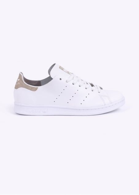 aee22061997f94 adidas Originals Stan Smith Deconstructed Trainers - White   Light Brown