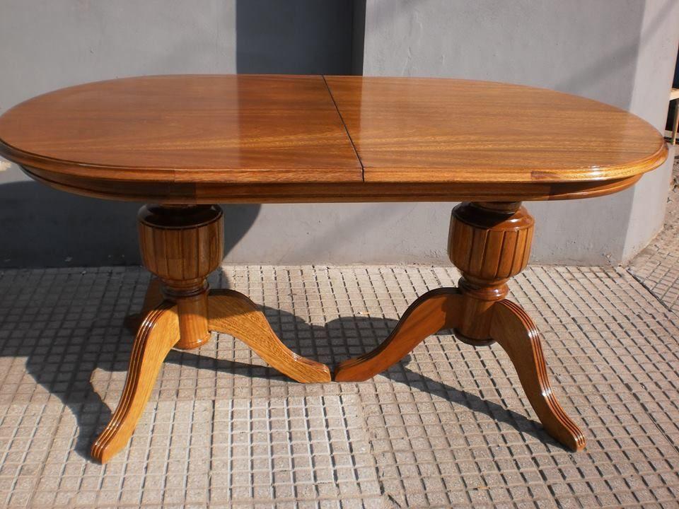 Mesa estilo sheraton madera de roble Aprigliano Muebles | muebles de ...