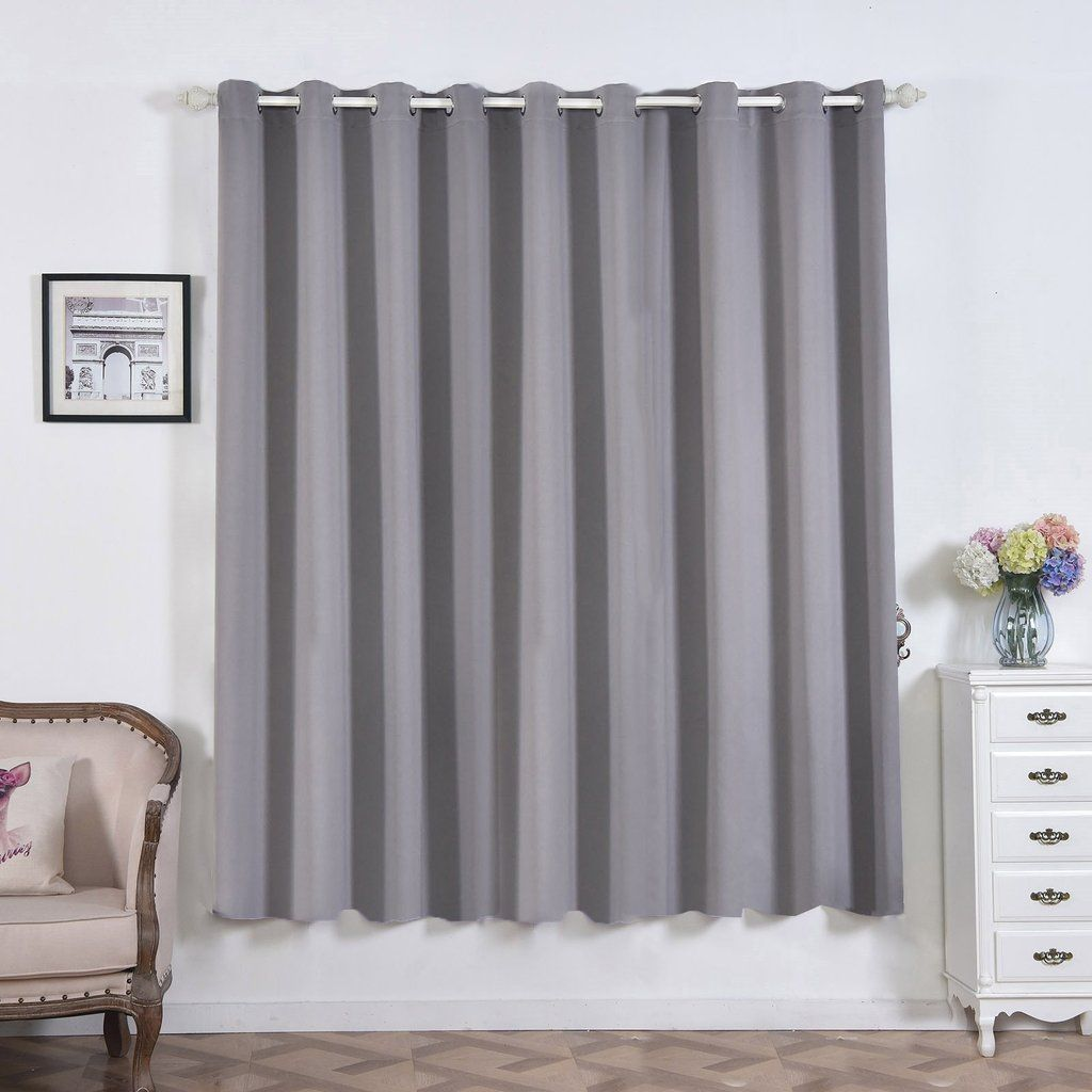 Charcoal Gray Blackout Curtains 2 Packs 52 X 84 Inch Blackout Curtains Room Darkener Curtains Grey Blackout Curtains Light Blocking Curtains Curtains