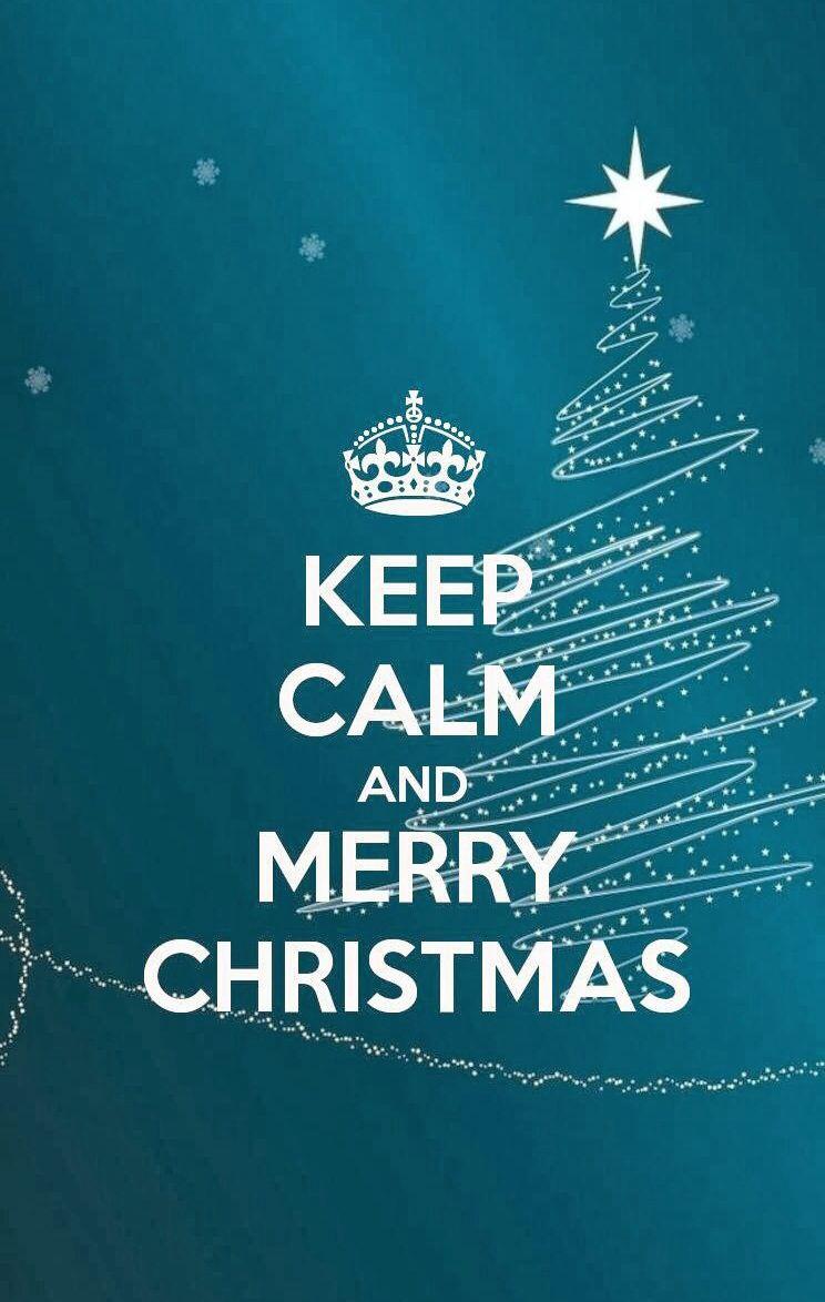 Keep calm and merry Christmas | Christmas | Pinterest | Merry and ...