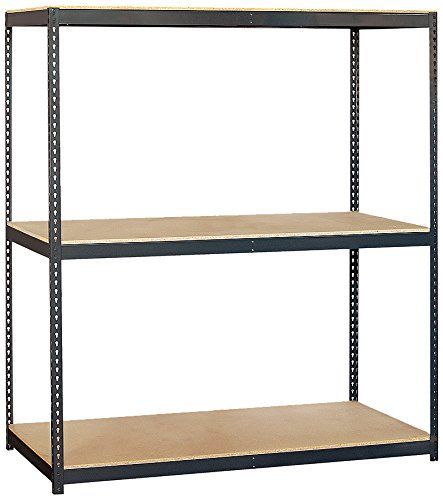 Salsbury Industries Solid Shelving Unit 72 Inch Wide By 84 Inch High By 24 Inch Deep Check Out The Image By Vi Salsbury Industries Boltless Shelving Shelves