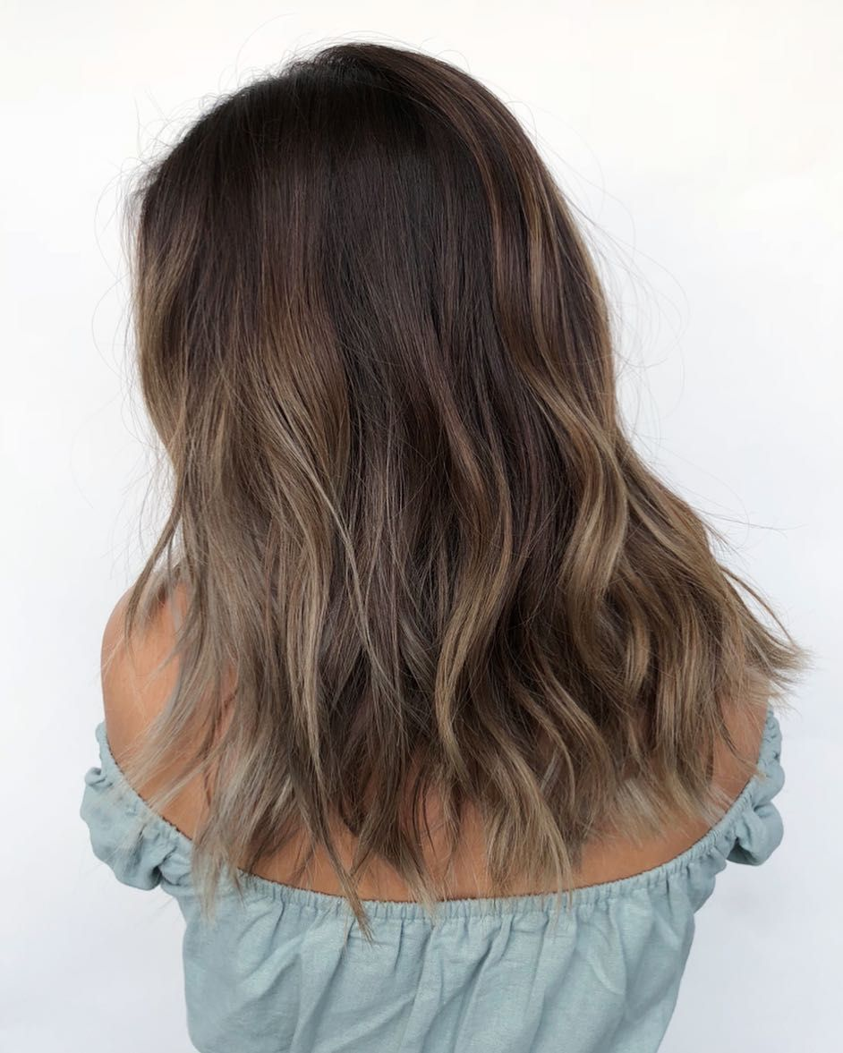 """Richie Miao on Instagram: """"SEAMLESS LAYERS // BEACHY WAVE FINISH by @richiemiao"""""""