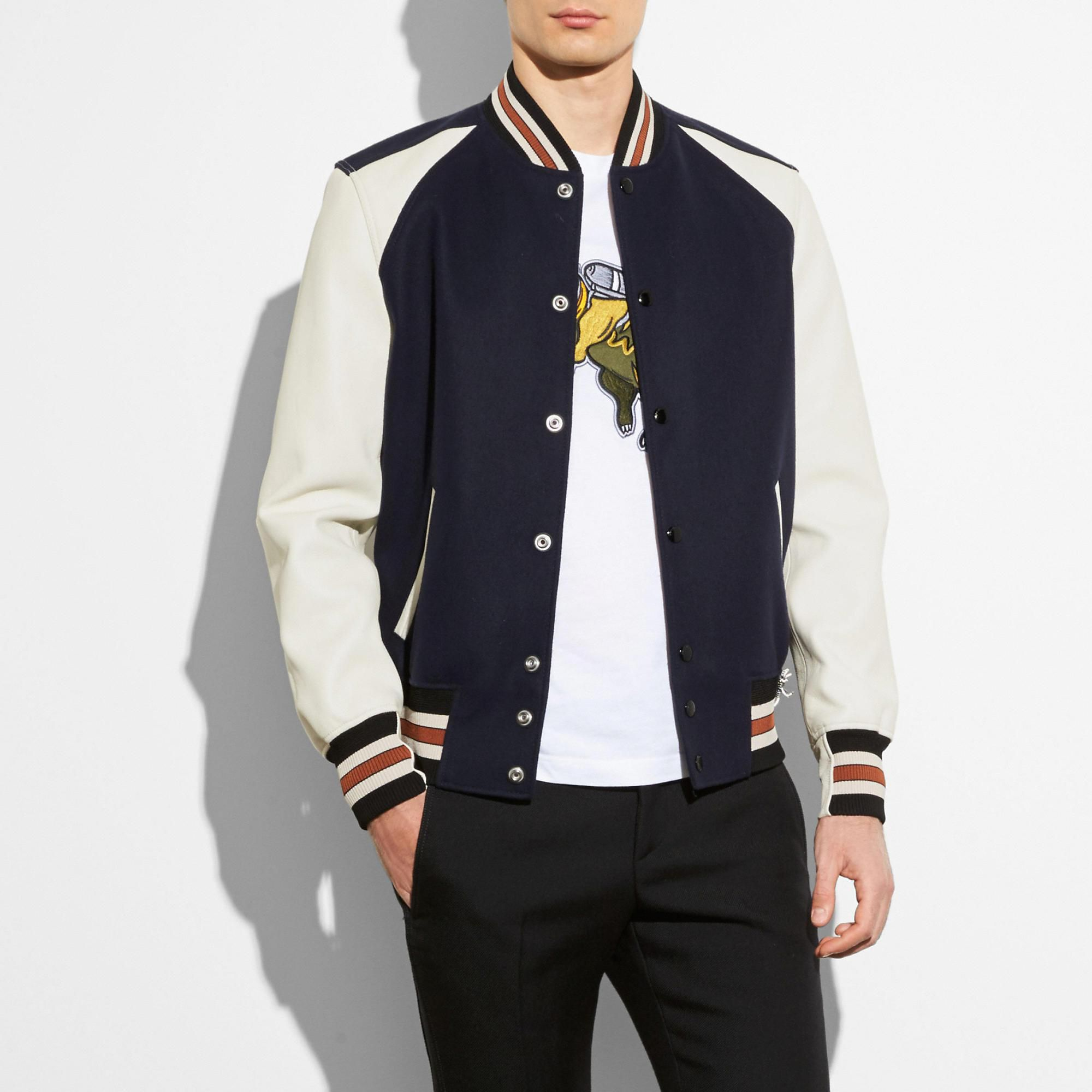 COACH Men's Varsity Jacket mensworkfashion Varsity