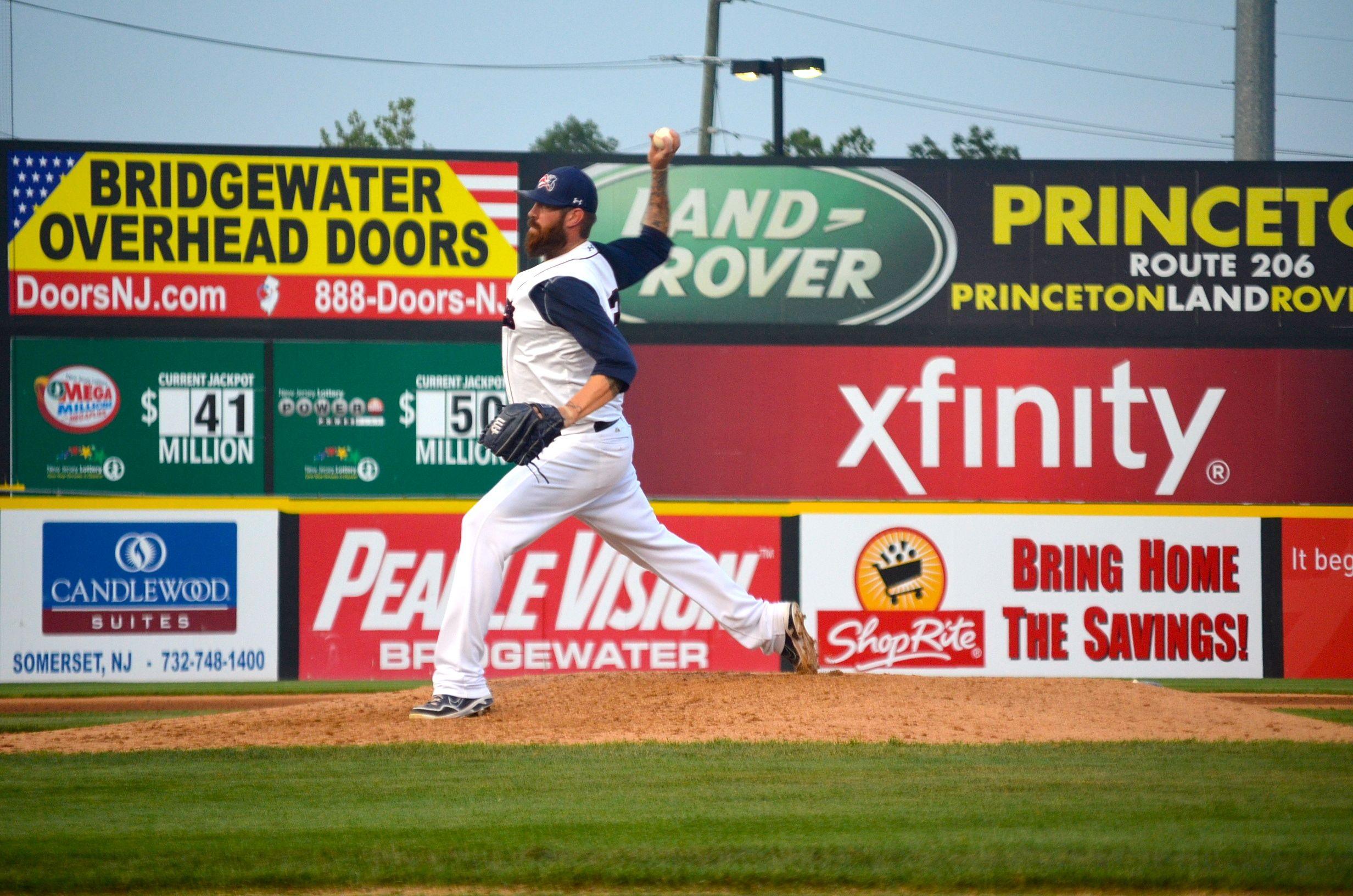 Jon Hunton Baseball Pitcher Somersetpatriots Getpatriotic Affordable Family Fun Family Fun New Jersey