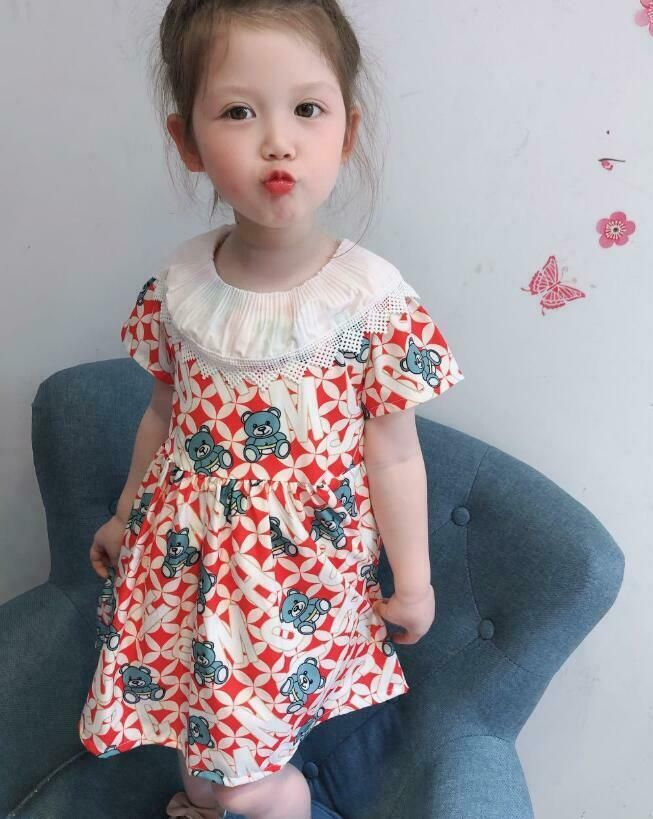 Us 6 To 30 Kids Girls Summer Dress Skirt Princess Party Holiday Casual Sundress In 2020 Girls Dresses Summer Children Girls Dresses Summer Girl Outfits