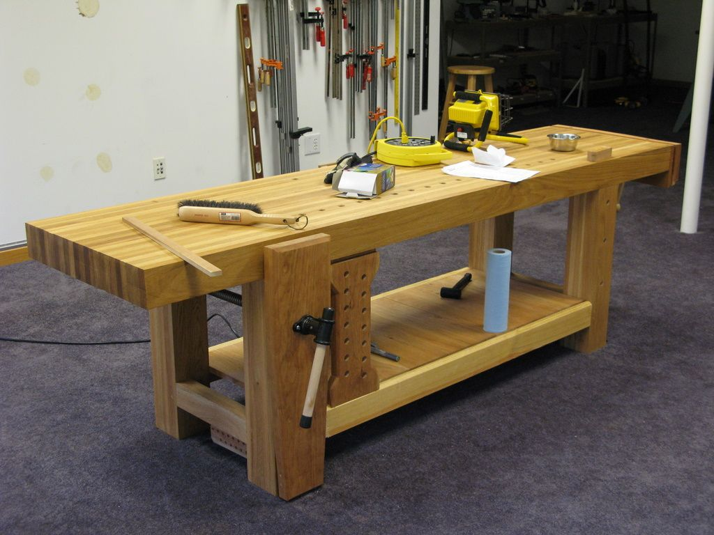 Stupendous Ruobo Workbench Using My Roubo Workbench Workbenches In Machost Co Dining Chair Design Ideas Machostcouk