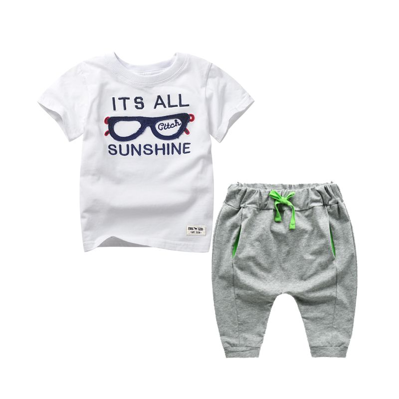 >> Click to Buy << Baby Boys Clothing Set Summer Style Children Clothing Kids T shirt+ Pants 2pcs Boys Suit Sport Toddler Clothing TZ0104 #Affiliate