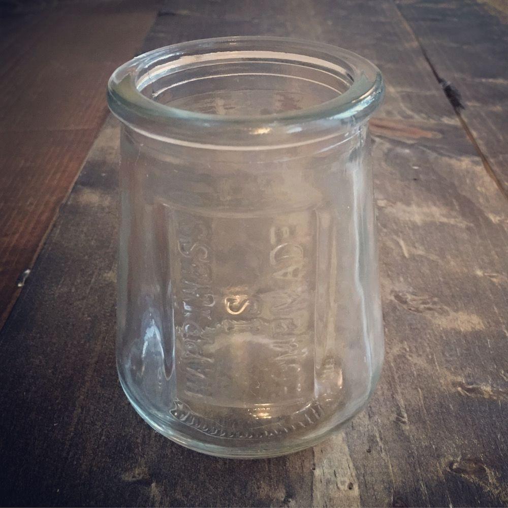 Happiness is Homemade Juice Glass