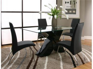 5 Piece Black Dinette $699.99 Underpriced Furniture