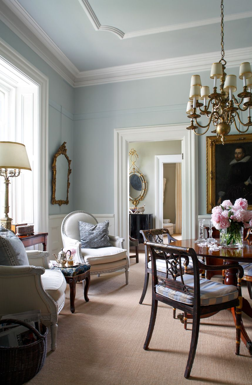 Home Decor Interior Design: English Country House – SUSAN BURNS DESIGN