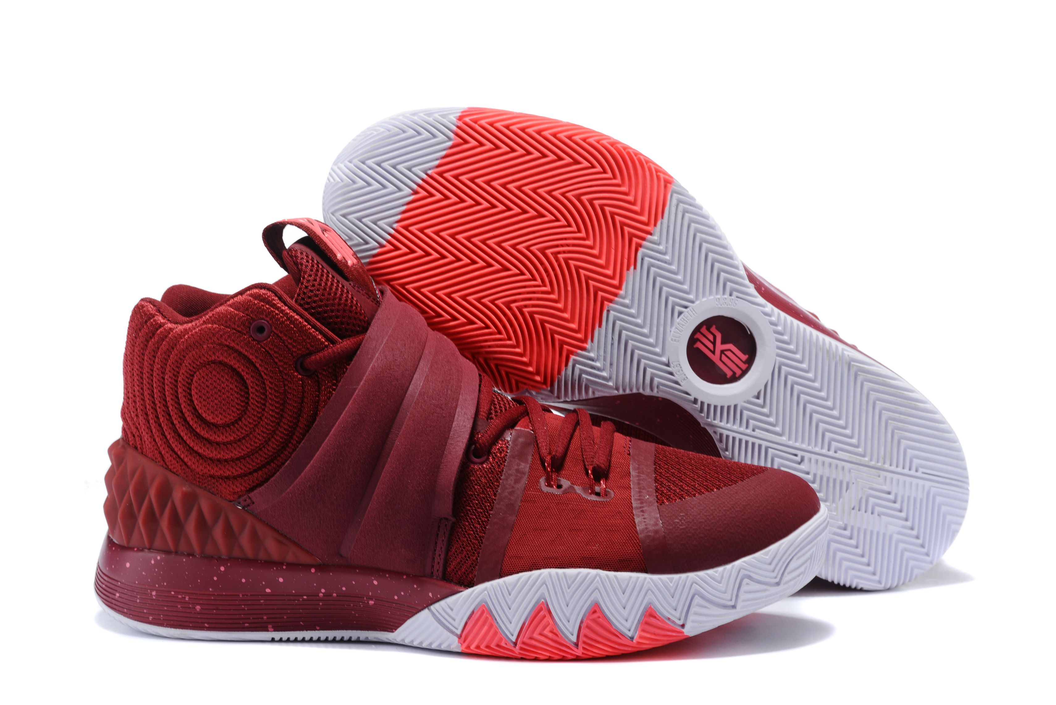 "8b7459ecd694 Nike Kyrie S1 Hybrid ""Wine Red"" Men s Basketball Shoes On Sale ..."