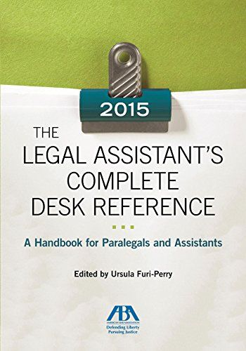 The 2013 Legal Assistant S Complete Desk Reference A Han Http Www Amazon Com Dp 1614389950 Ref Cm Sw R Pi Dp E Paralegal Nursing Study Tips Nursing Study