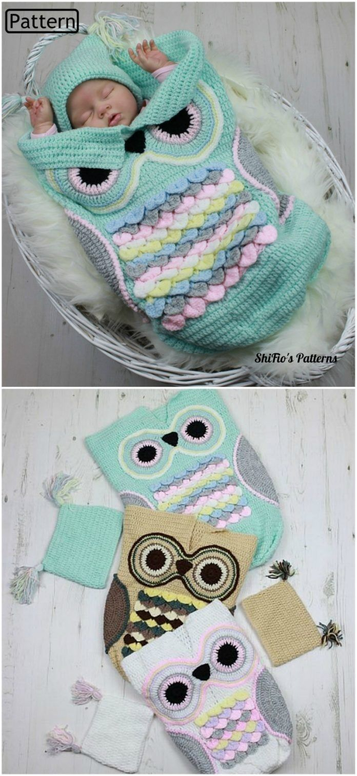 The Sweetest Crochet Baby Cocoon Ideas To Make