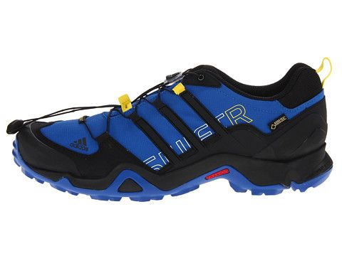 9513b5e77 adidas Outdoor Terrex Swift R GTX® Blue Beauty Black Vivid Yellow -  Zappos.com Free Shipping BOTH Ways