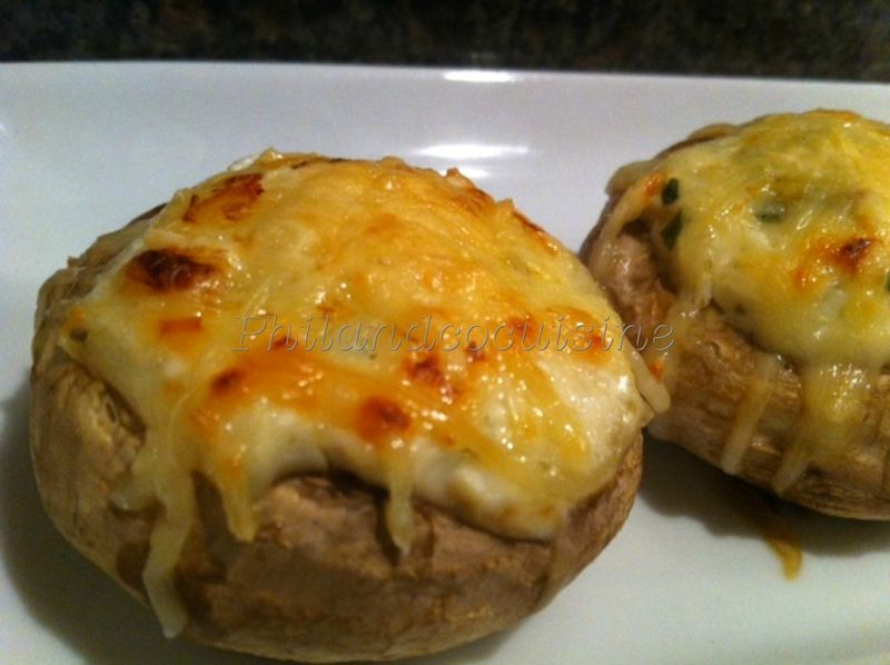 Une petite idée pour le repas de ce soir, des champignons