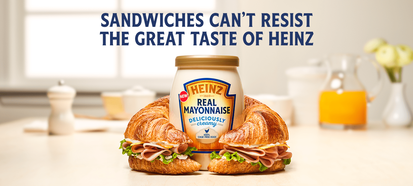 Heinz New Mayo Campaing Food recipes, Food, Snack recipes