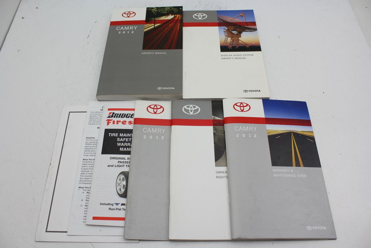 vehicle owners manuals
