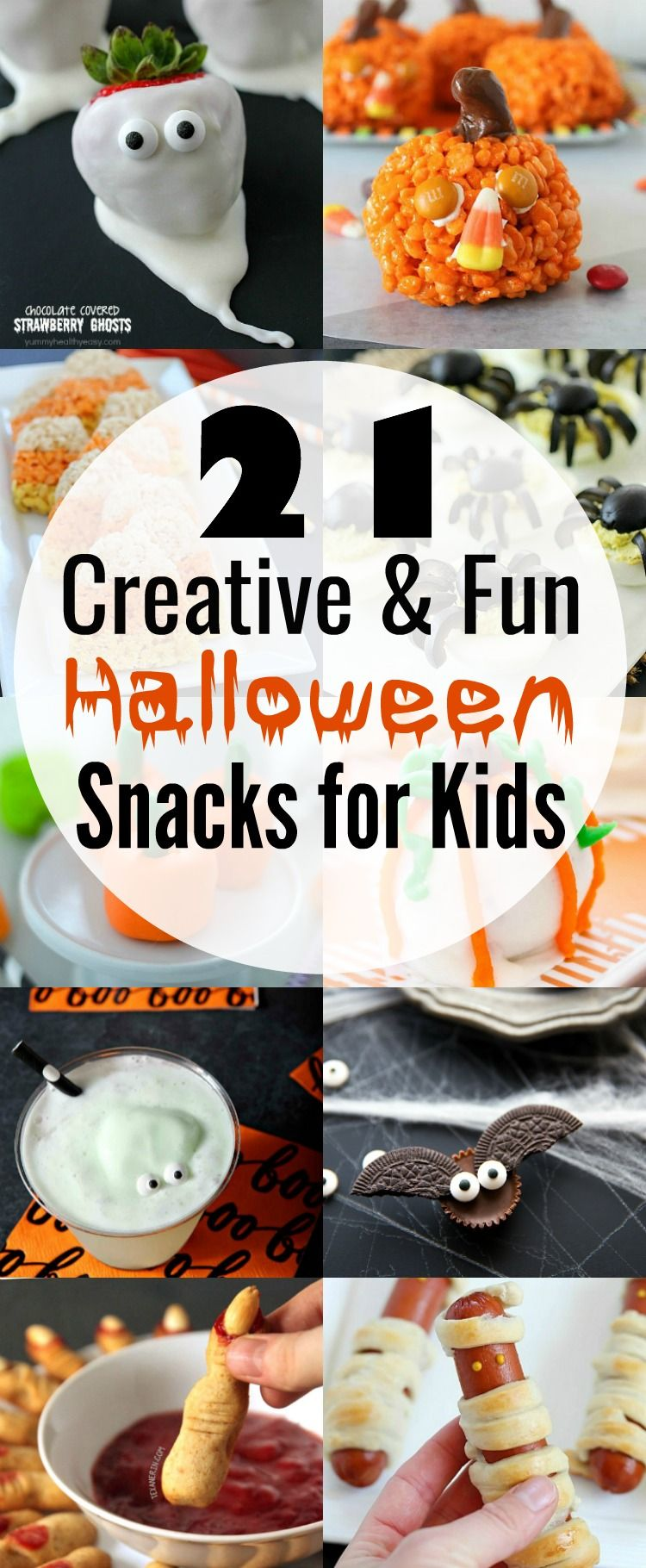 Your Little Ghouls Will Love These 21 Insanely Adorable Halloween Snacks That Are Fun Halloween Snacks Halloween Snacks For Kids Easy Halloween Food