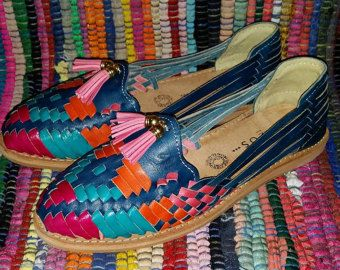 Huaraches sandalias mujer colores sandalias por artesanoslaraza