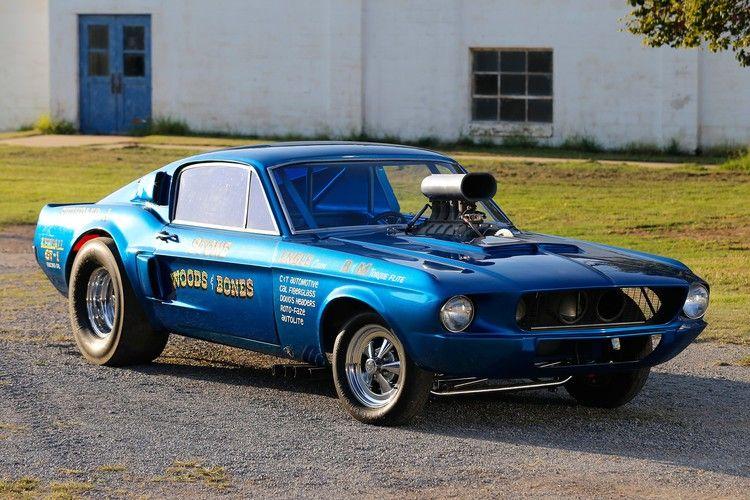 Era Ending Machine 1967 Shelby Mustang Gasser Resurfaces Hot
