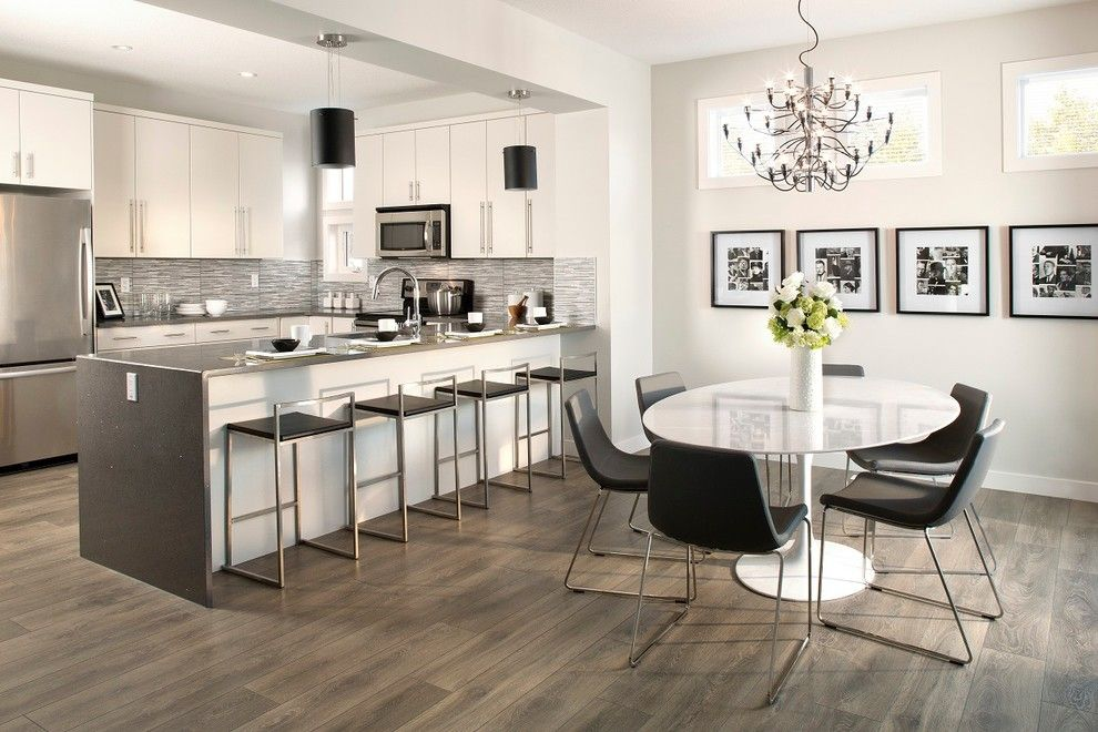 Wpc Flooring Means Wood Plastic Composite Decno S Wpc Floor Dura Is Designed To Offer Better Foot Small Apartment Kitchen Modern Kitchen Modern Kitchen Design