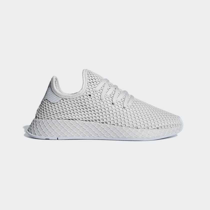 Deerupt Shoes Grey / Grey / Aero Blue B41726 | Shoes, White ...