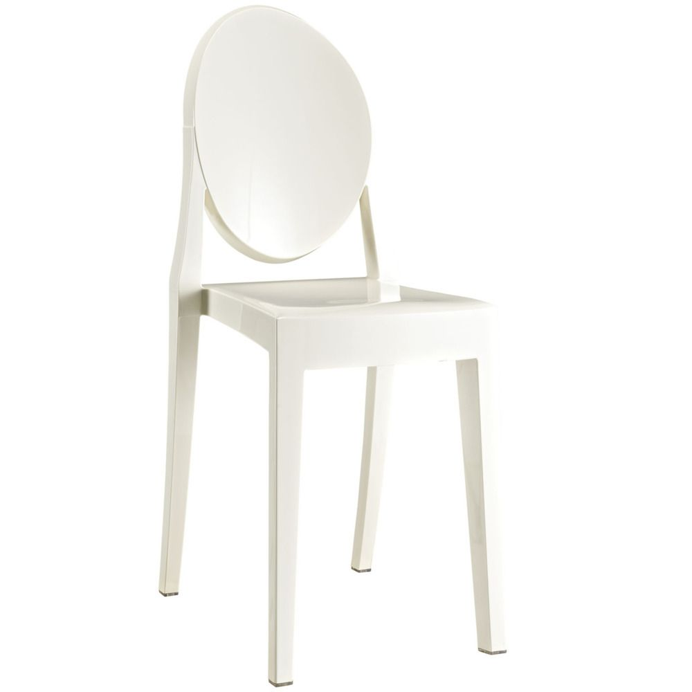 50 Cool And Creative Shabby Chic Dining Rooms: Casper Dining Side Chair In White