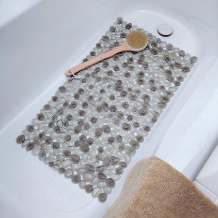 Amazon.com - Pebble Bath Mat (Blue) - Non Slip Bathtub Mats