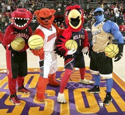 Nba Mascots Nba Mascots 430sv1 042210 Top 10 Nba Mascots Mascot Nba Sports Wallpapers