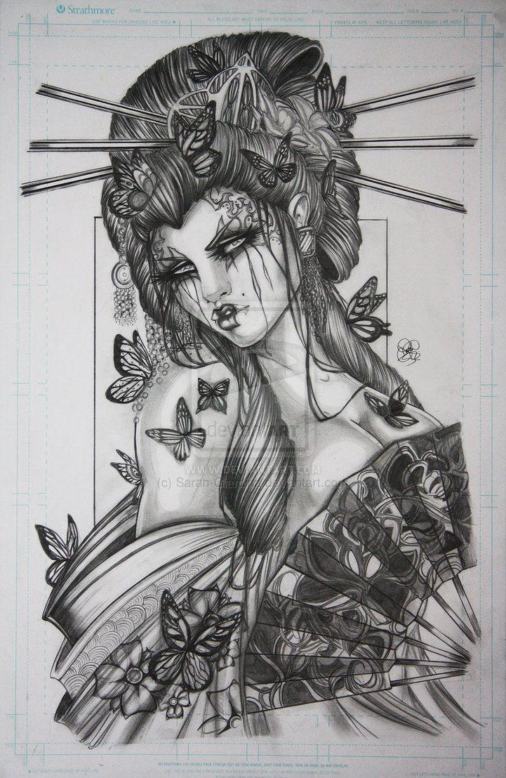 Uncategorized Geisha Girl Drawing japanese geisha sketch google search tattoos pinterest search