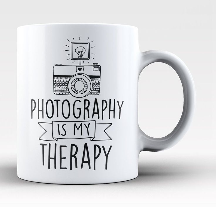 Photography is my therapy The perfect coffee mug for any proud