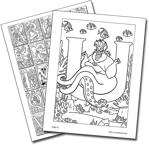 You Can Get Free Printable Disney Alphabet Letters For Your Kids To Color Abc Coloring Pages Disney Princess Coloring Pages Disney Coloring Sheets