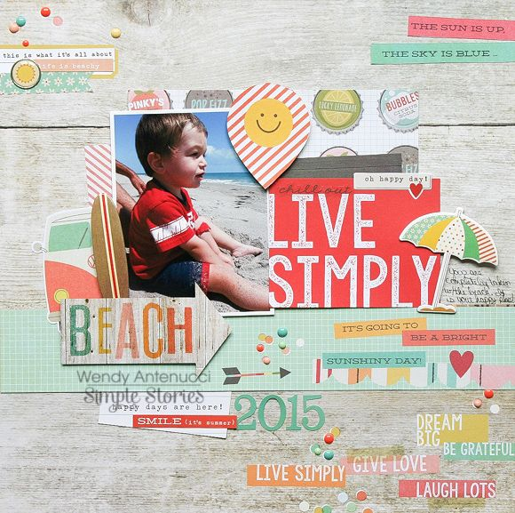 Live Simply **Simple Stories DT** - Scrapbook.com