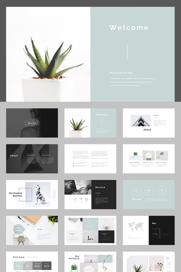 Multipurpose PowerPoint Template #74857